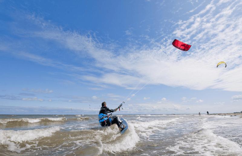 Kitesurfen in Heiligenhafen