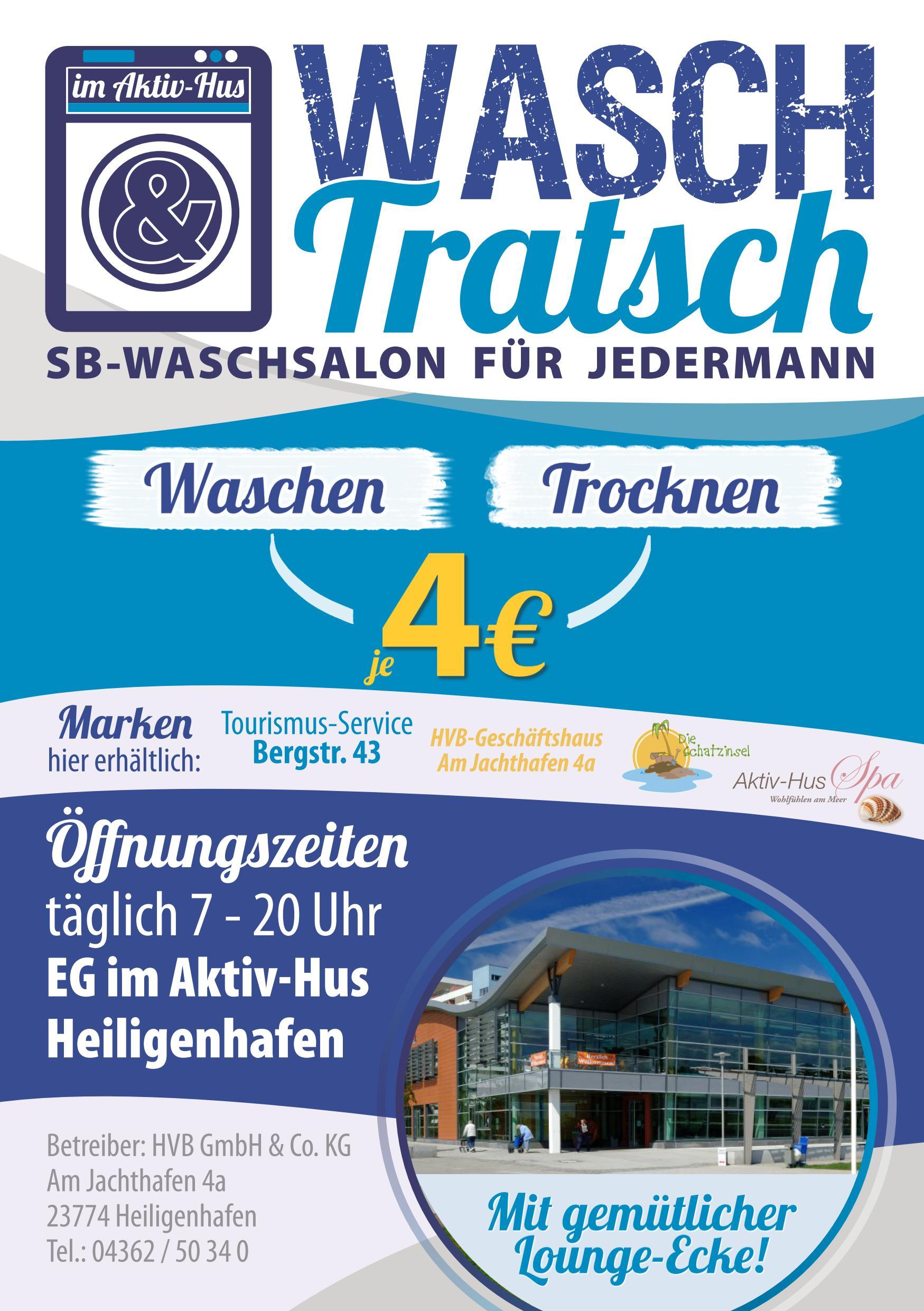 WaschTratsch Flyer A5